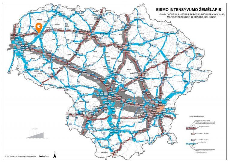 Eismo_intensyvumo_žemėlapis